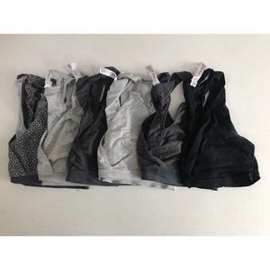 Pack of 6 nursing bras